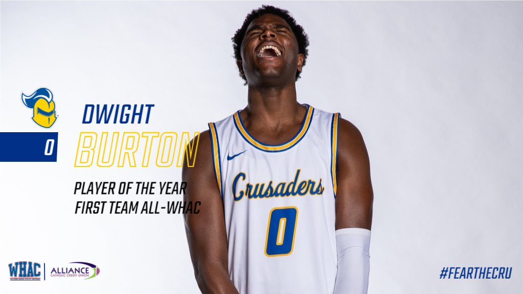 Dwight Burton named WHAC Player of the Year and First Team All-Conference