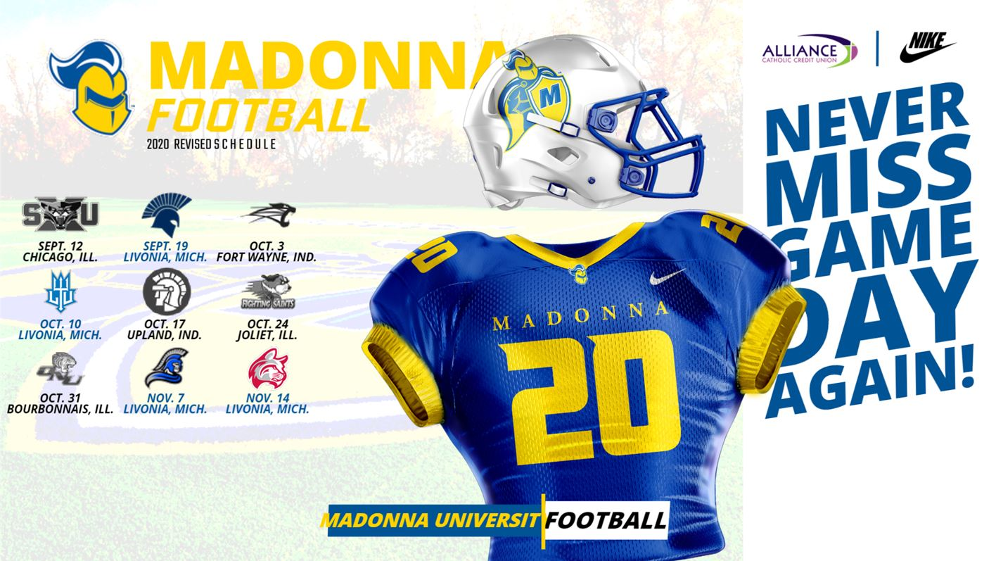 Football Madonna University Athletics